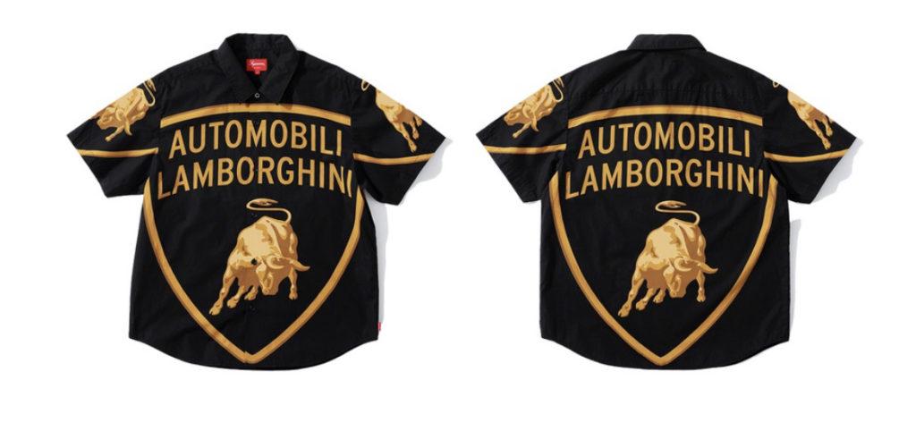 Supreme x Lamborghini collaborazione 2