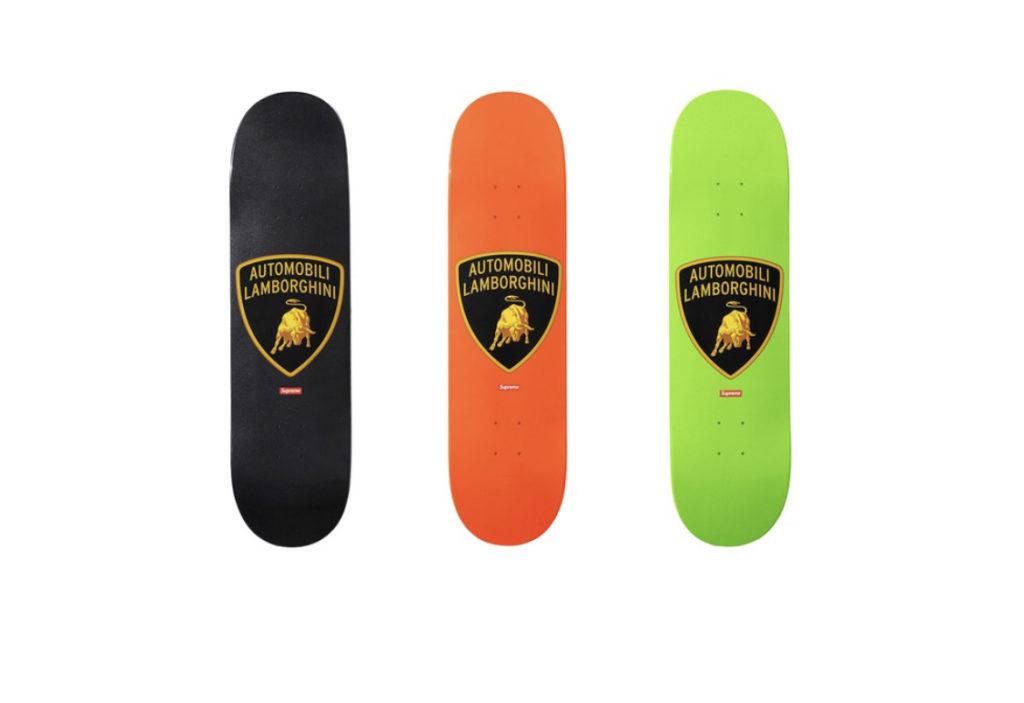 Supreme x Lamborghini collaborazione 7