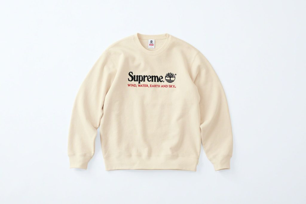 Supreme x Timberland Hoodie White