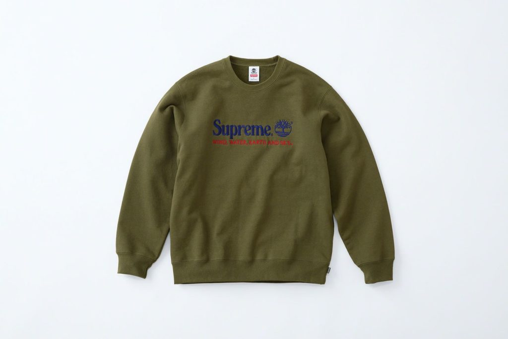 Supreme x Timberland Hoodie Green
