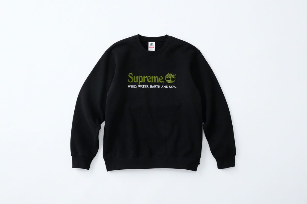 Supreme x Timberland Hoodie Black
