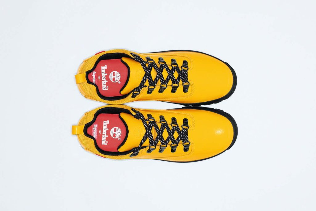 Supreme x TImberland Euro Hiker Low Yellow