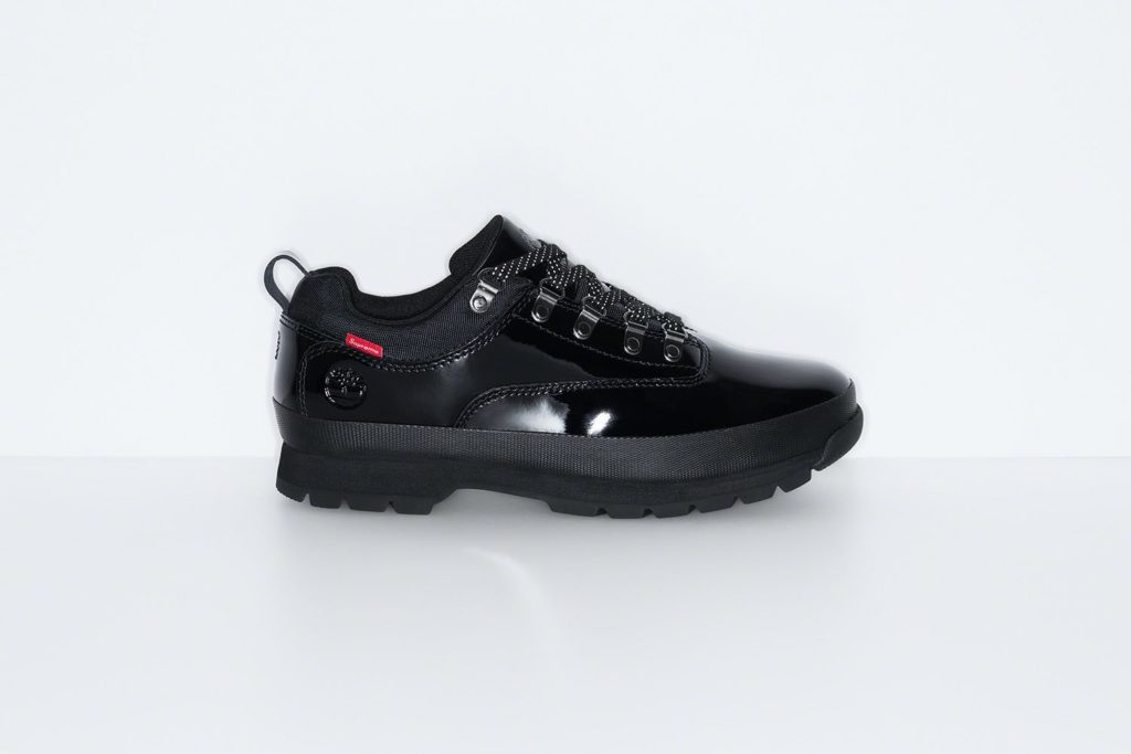 Supreme x Timberland Euro Hiker Low Black
