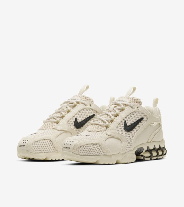 nike-x-stssy-air-zoom-spiridon-cage-2-fossil-release-date