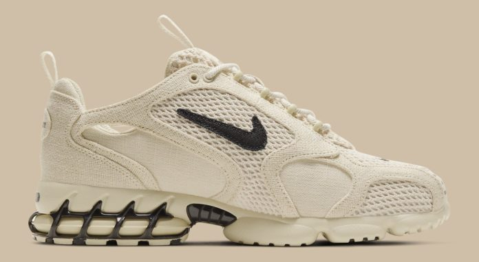 stussy-nike-air-zoom-spiridon-2-caged-fossil-release