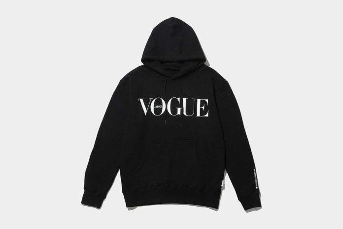 vogue-japan-the-conveni-Hoodie-Black-Front