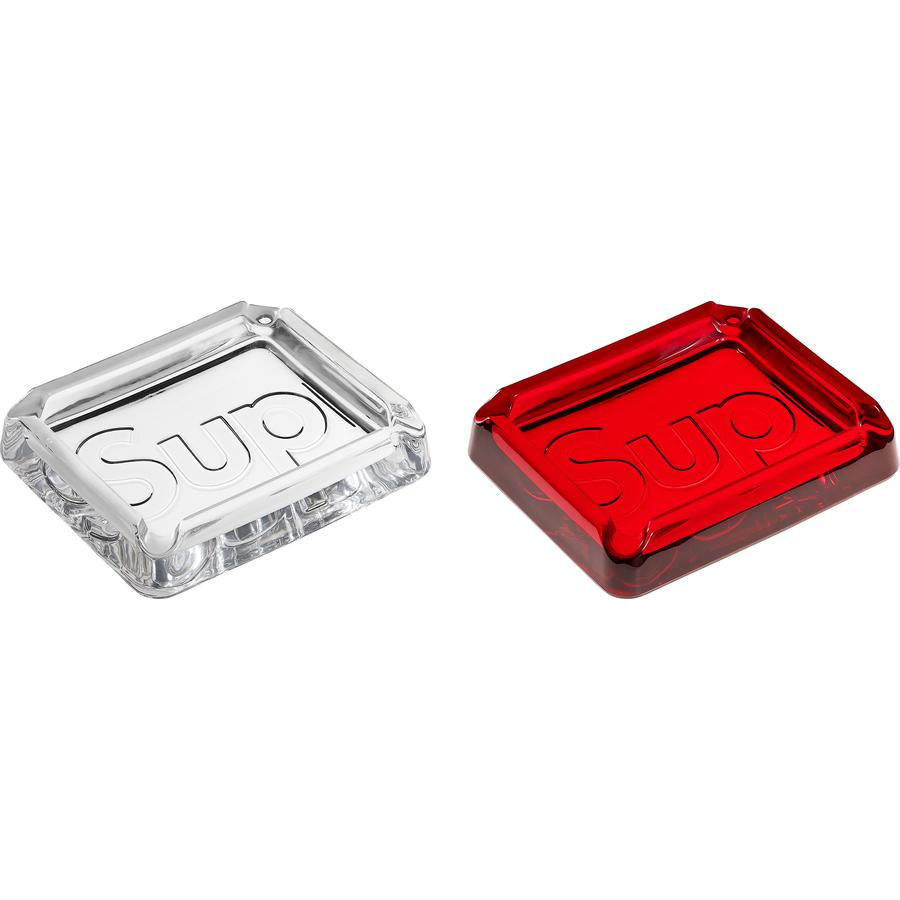 Supreme Debossed Glass Ashtray