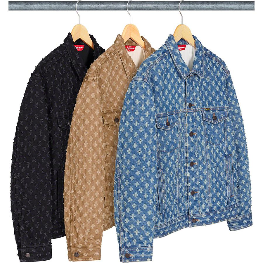 Supreme Hole Punch Denim Trucker Jacket