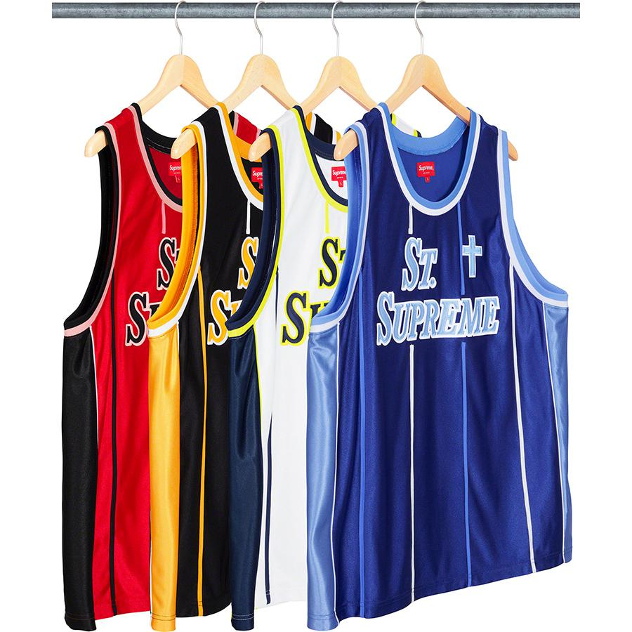 St. Supreme Basketball Jersey