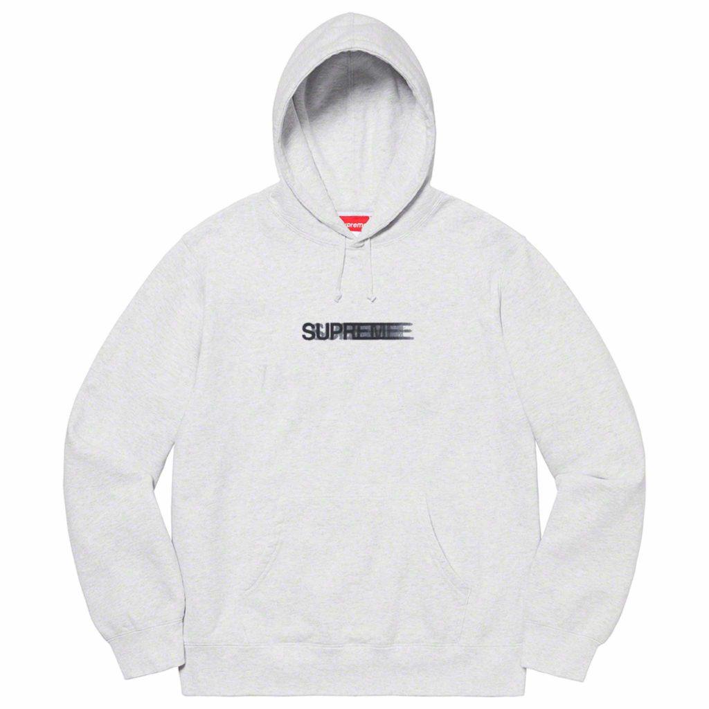 Supreme-hoodie-grey