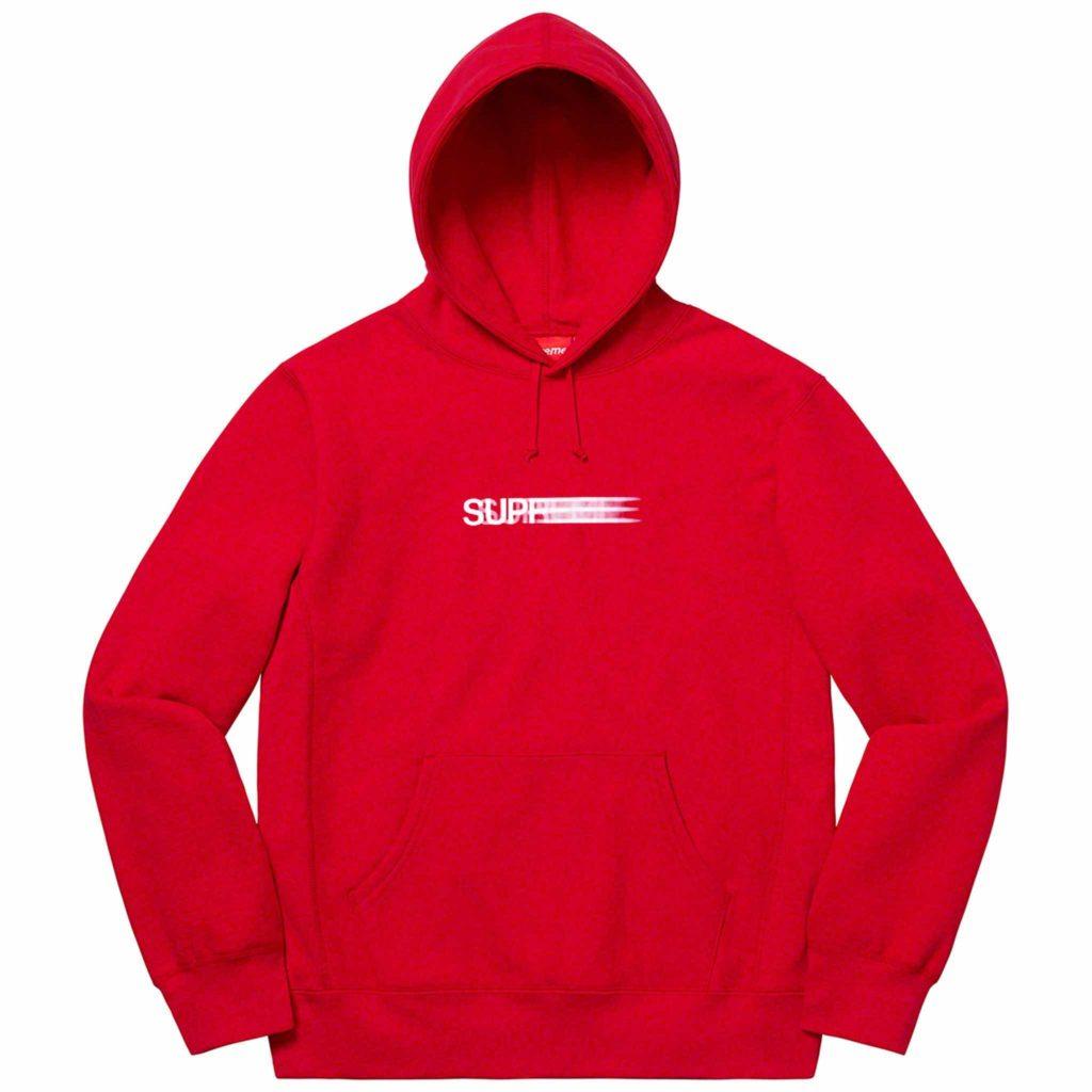 Supreme-hoodie-red