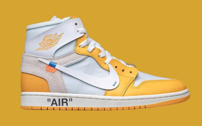 air jordan 1 Canary Yellow