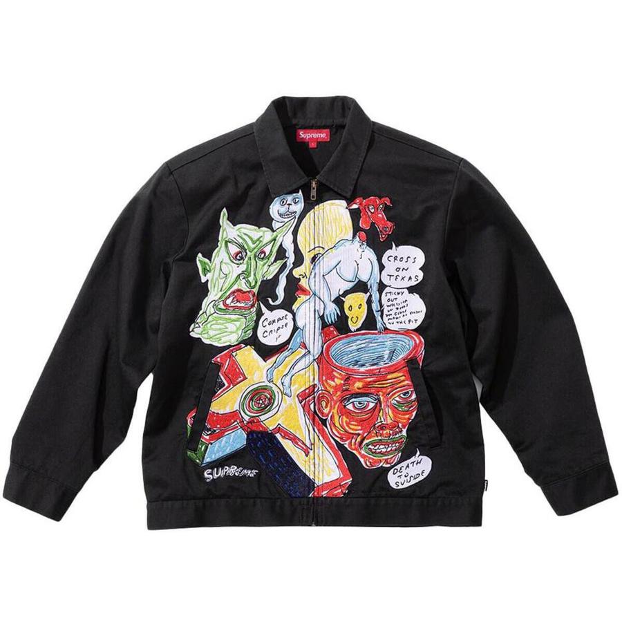 Daniel Johnston Embroidered Work Jacket 1