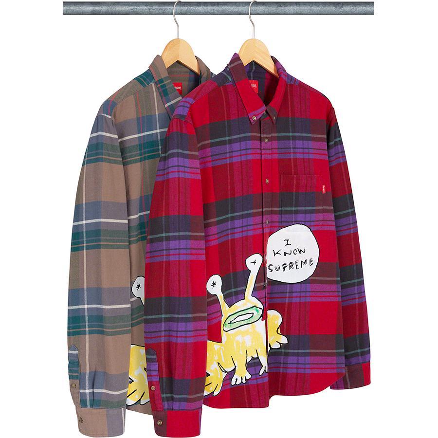 Daniel Johnston Plaid Shirt