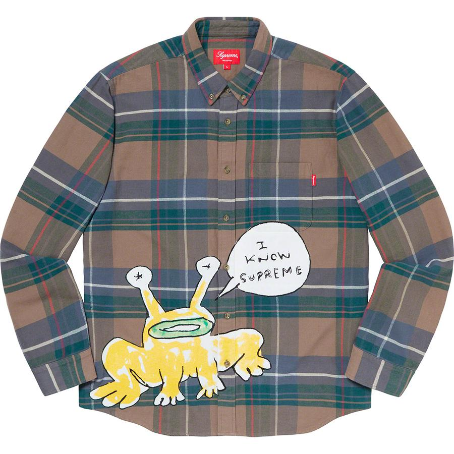 Daniel Johnston Plaid Shirt 1