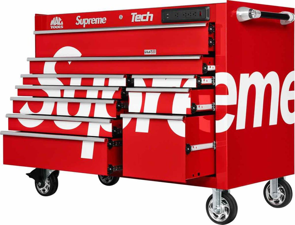 Supreme x Mac Tool Immagine Laterale