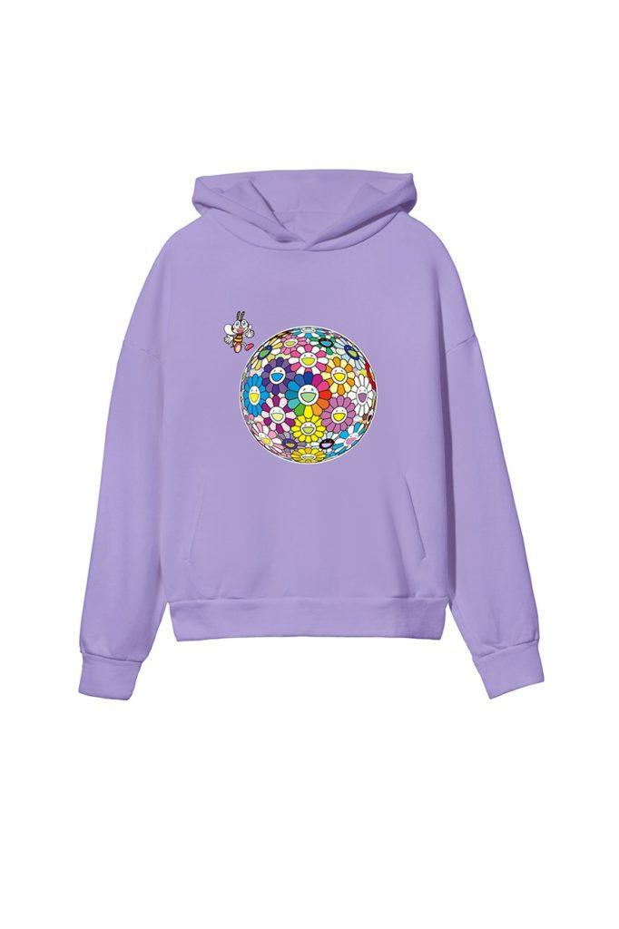 Takashi-Murakami-x-PANGAIA-World-Bee-Day-2020-Capsule-Collection-Purple-Front