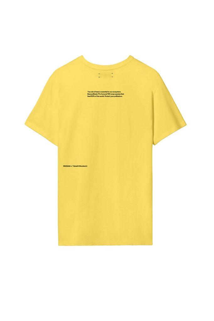 Takashi-Murakami-x-PANGAIA-World-Bee-Day-2020-Capsule-Collection-Yellow-Tee-back