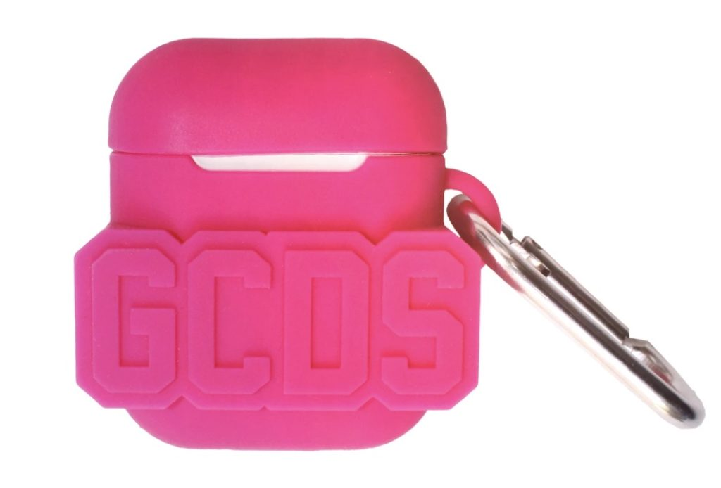 GCDS-Airpods-Cover-Streetwear-Fuxia