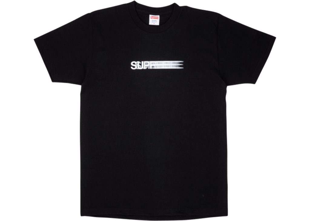 Supreme-Motion-Logo-Tee-Black