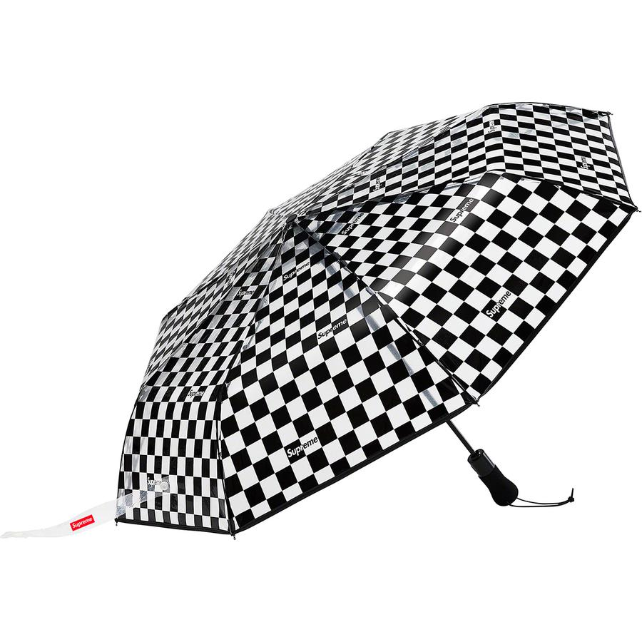 Supreme ShedRain Transparent Checkerboard Umbrella 18 Giugno 2020