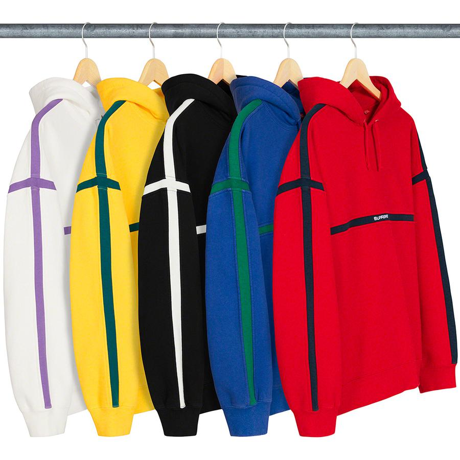 Supreme Warm Up Hooded Sweatshirt 18 Giugno 2020