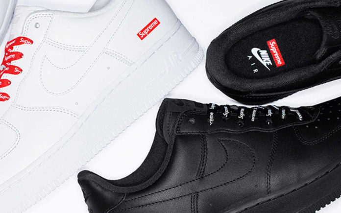 Supreme x Nike Air force 1 Cover