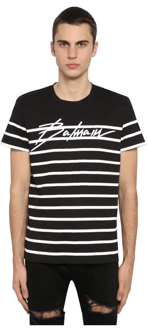 T-Shirt-Balmain-Marinaia-Saldi