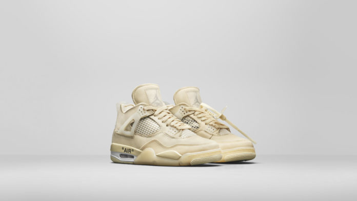 Air Jordan IV x Off-White Dove Acquistarle