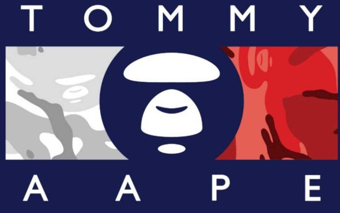 Bape-x-Tommy