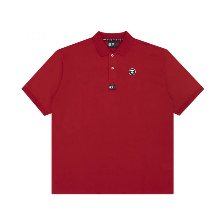 Bape-x-Tommy-Hilfiger-Polo-Red