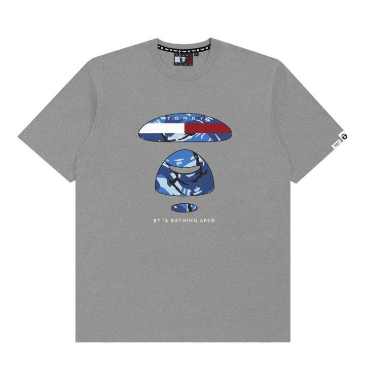 Bape-x-Tommy-Hilfiger-Tee-Logo-Grey