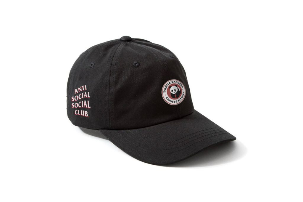 Panda-Express-x-Anti-Social-Social-Club-Cap-Black