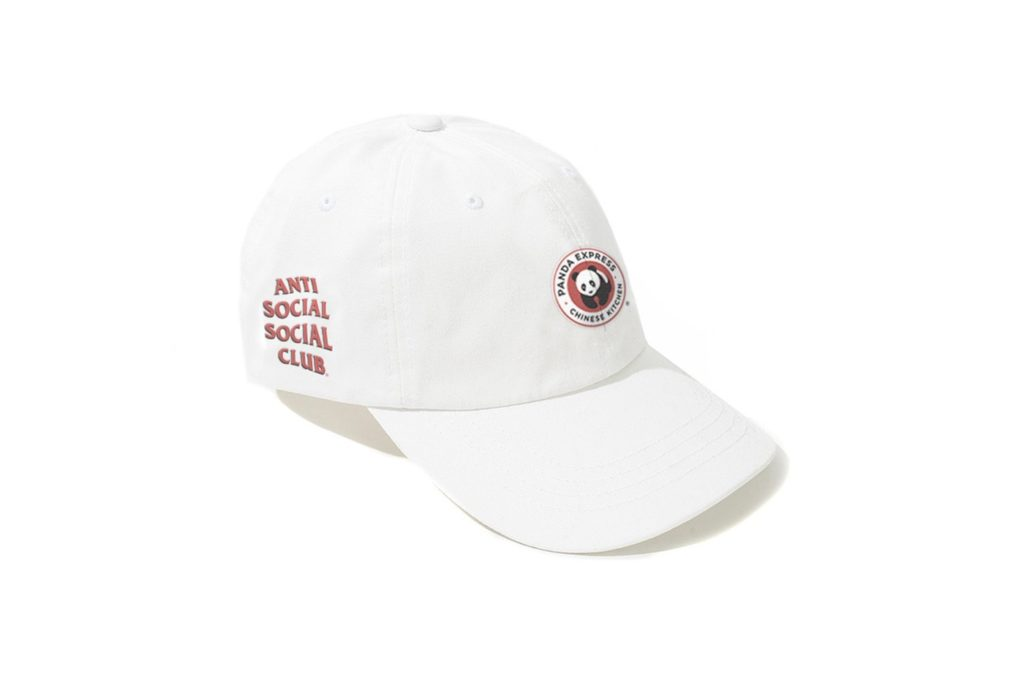 Panda-Express-x-Anti-Social-Social-Club-Cap-White