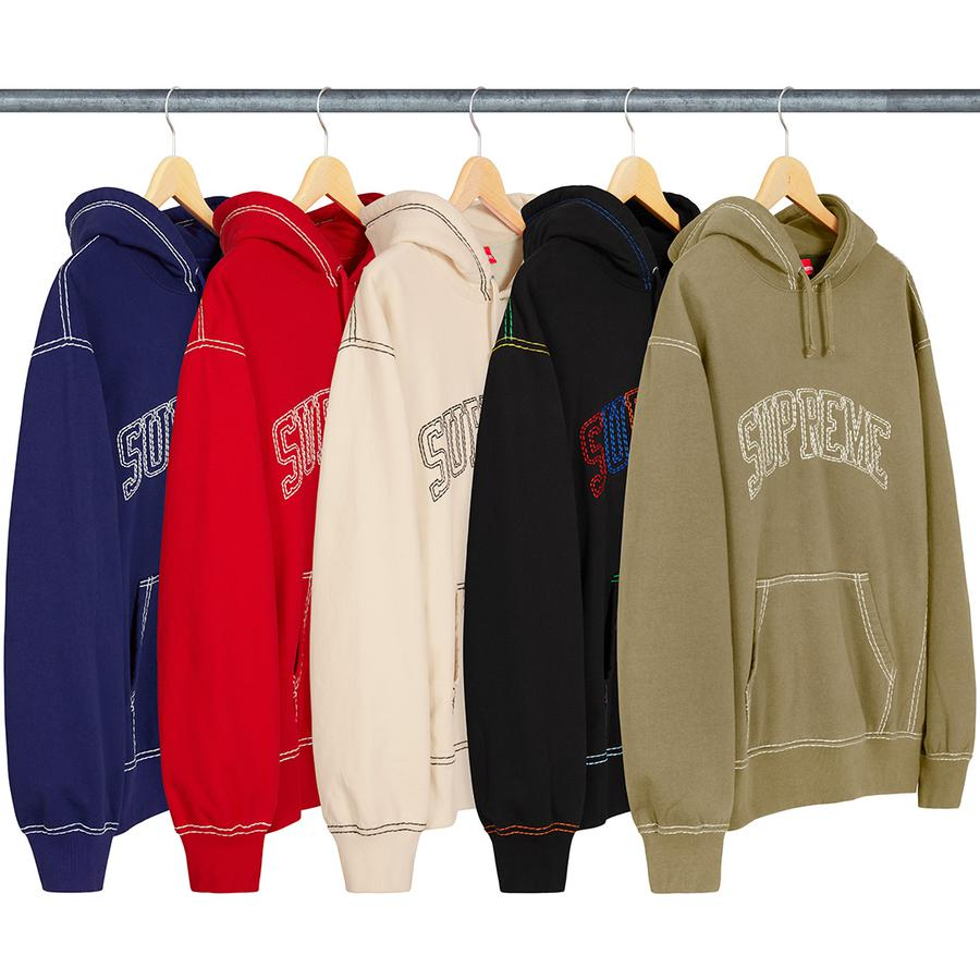 Supreme Week 2 - Big Stitch Hooded Sweatshirt - 3 Settembre 2020