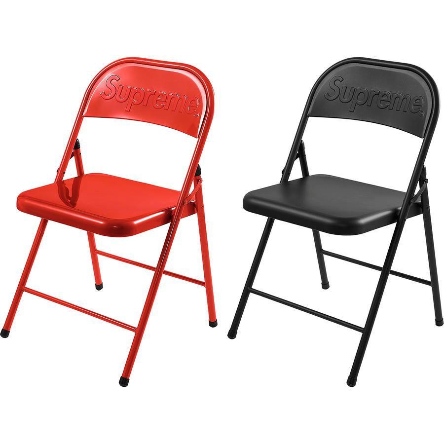 Supreme Week 2 - Metal Folding Chair - 3 Settembre 2020
