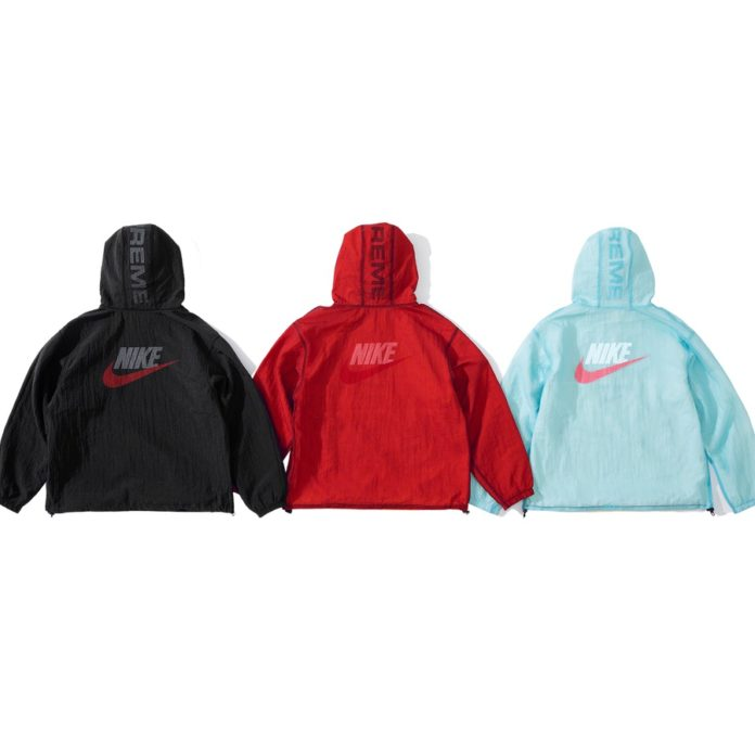Supreme x Nike - Jewel Reversible Ripstop Anorak - Back - Week 2 - 3 Settembre 2020