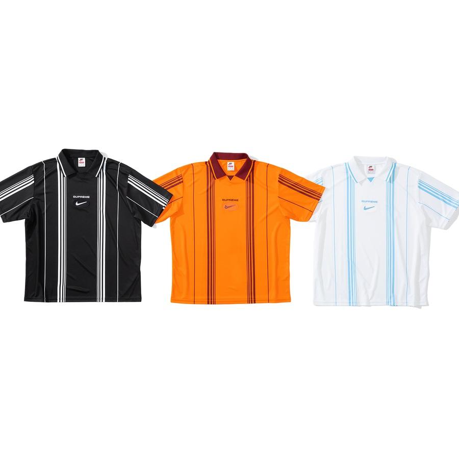 Supreme x Nike - Jewel Stripe Soccer Jersey - Week 2 - 3 Settembre 2020