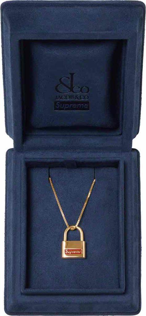 supreme-jacob-co-14k-gold-lock-pendant-Fall-Winter-2020