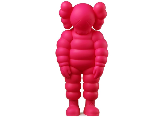 KAWS-What-Party-Figure-Pink
