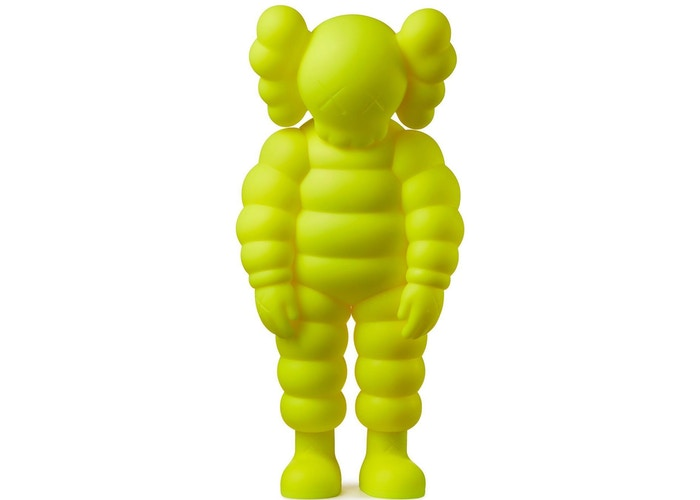 KAWS-What-Party-Figure-Yellow