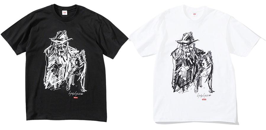 Supreme-x-Yohji-Yamamoto-Scribble-Portrait-Tee-Week-4-17-09-2020