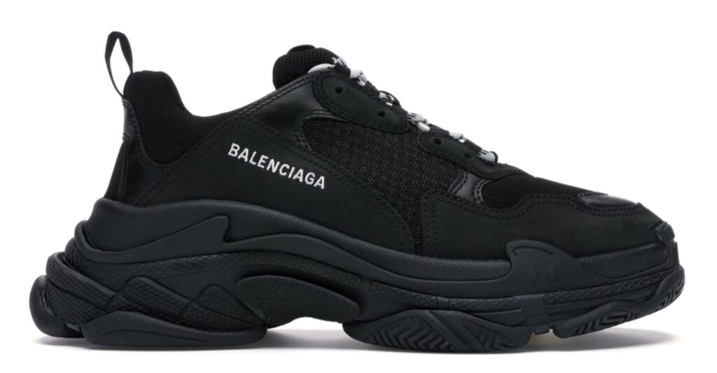 Balenciaga Triple S Black (2019)