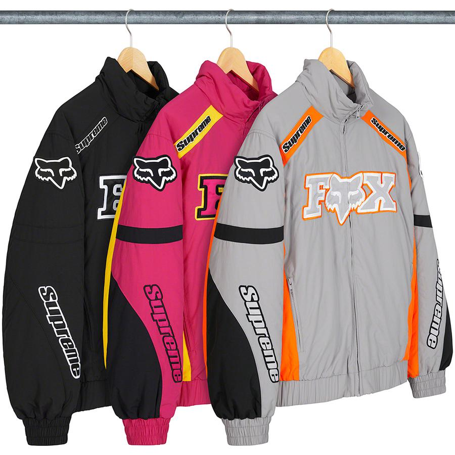 Supreme-x-Fox-Racing-Racing-Puffy-Jacket-Drop-Week-7-8-Ottobre-2020