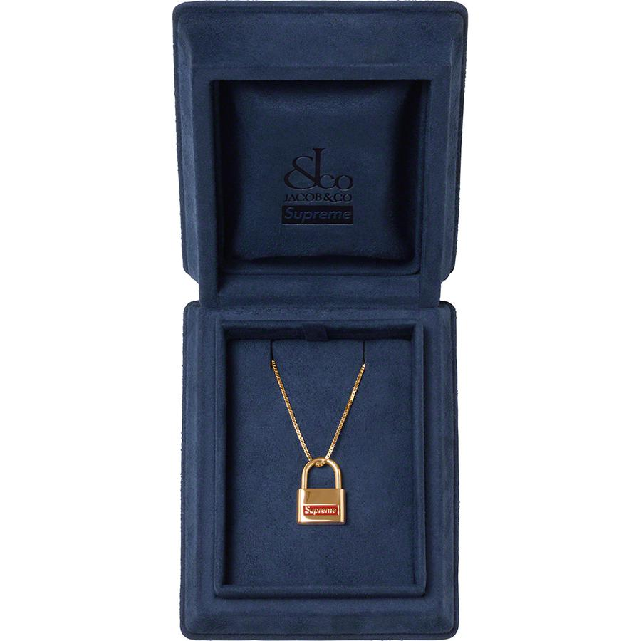 Supreme-x-Jacob-&-Co-14K-Gold-Lock-Pendant-Week-9-release-22-ottobre-2020