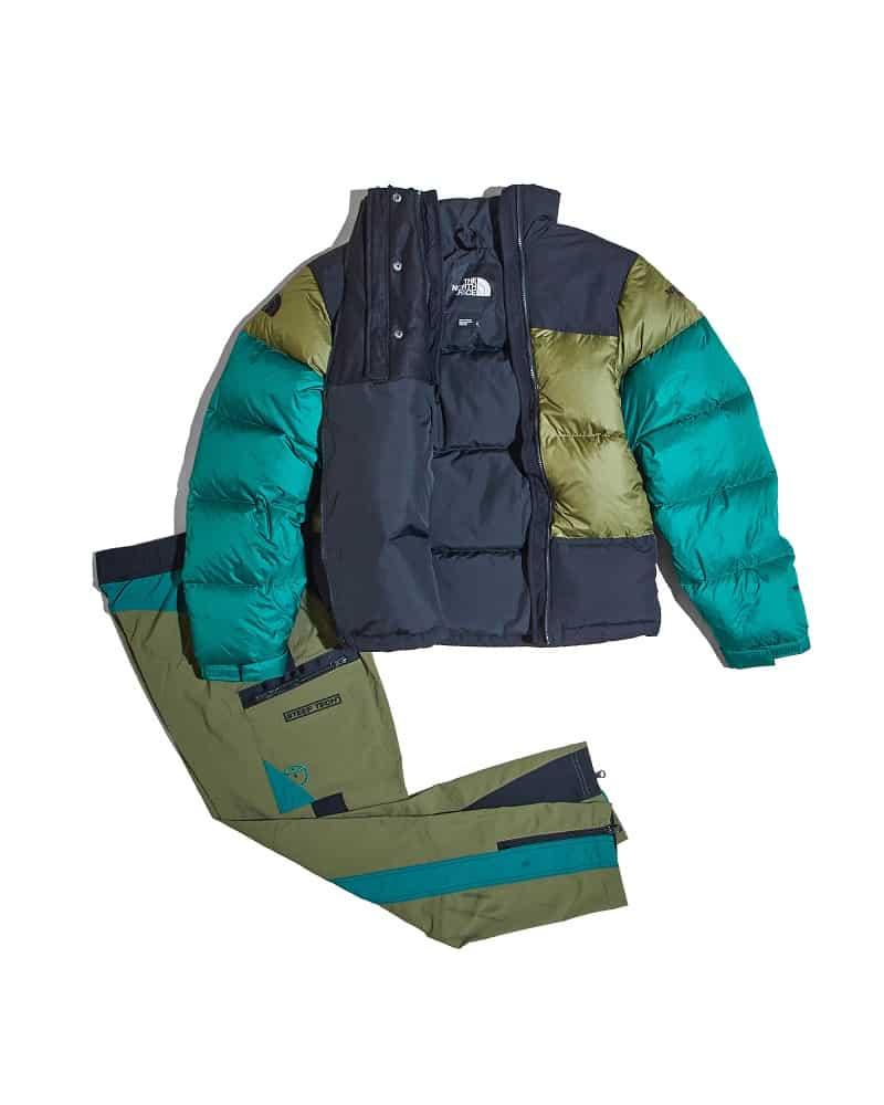 steep tech down jacket_steep tech pant_OK