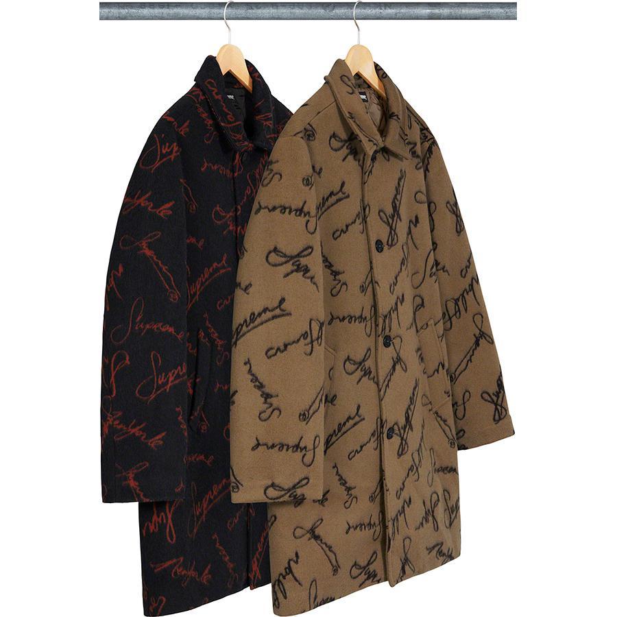 Supreme-Script-Logos-Wool-Overcoat-Drop-Week-12-Novembre-2020