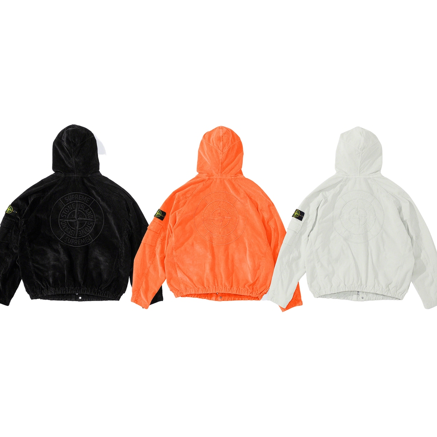 Supreme-x-Stone-Island-Corduroy-Jacket -Drop-Week-13-19-11-2020-Back
