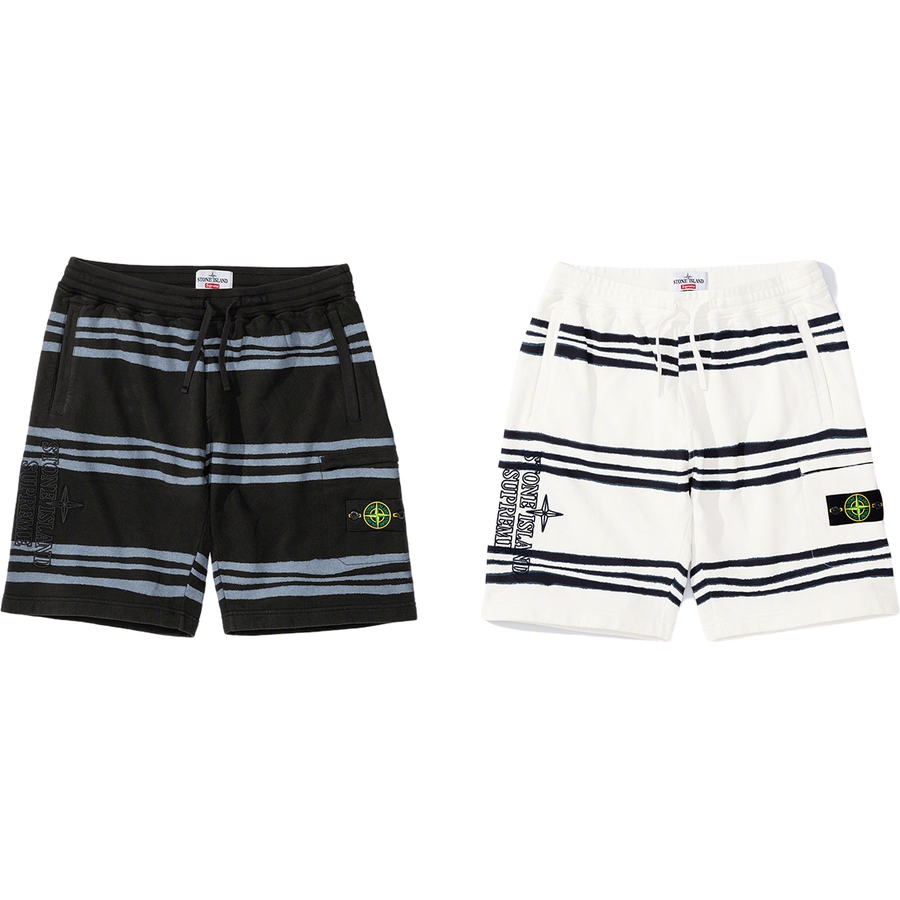 Supreme-x-Stone-Island-Warp-Stripe-Sweatshort-Drop-Week-13-19-11-2020