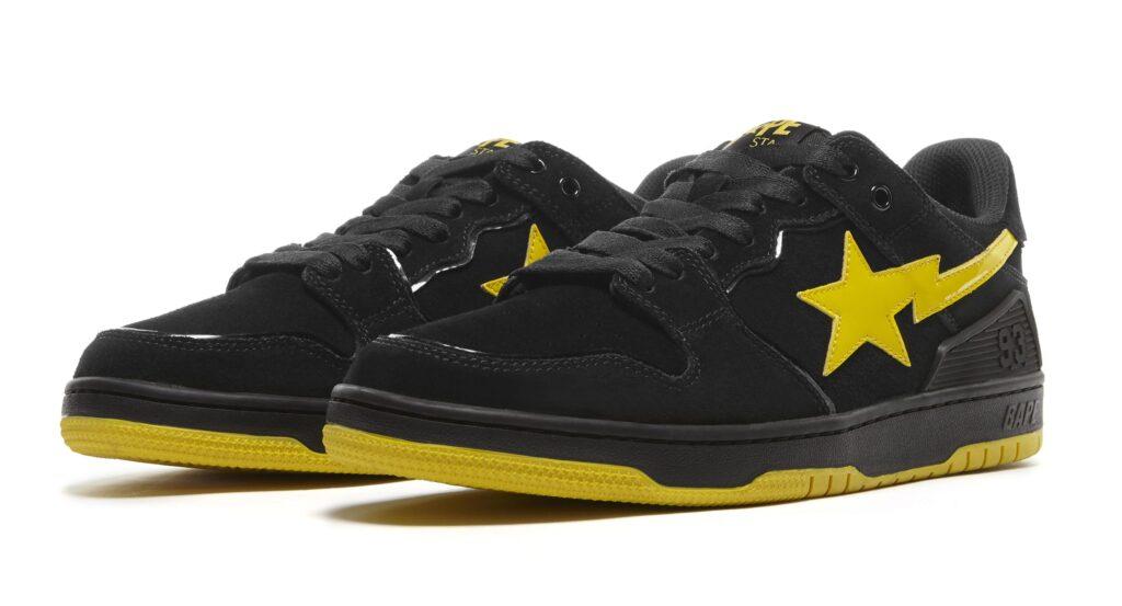 bape-sk8-sta-black-electric-yellow-pair